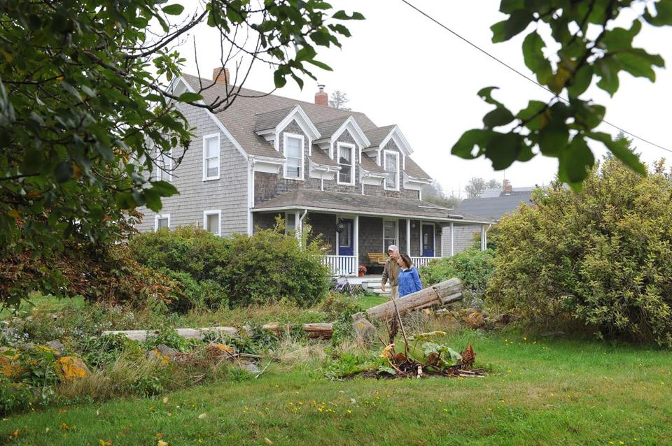 The Monhegan Island home where Orion Krause spent part of his childhood.